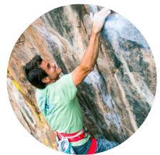 craig rock climbing